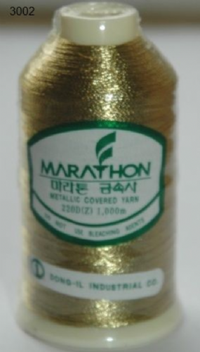 Marathon Rayon Embroidery Machine Thread Metallic - 3002